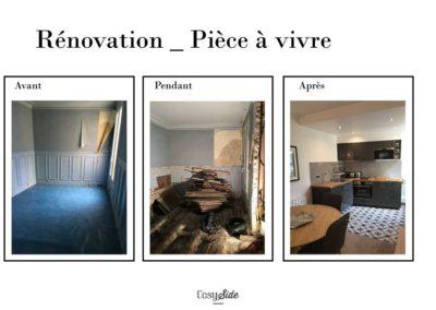 Rénovation et création coin cuisine