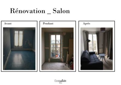 Rénovation salon