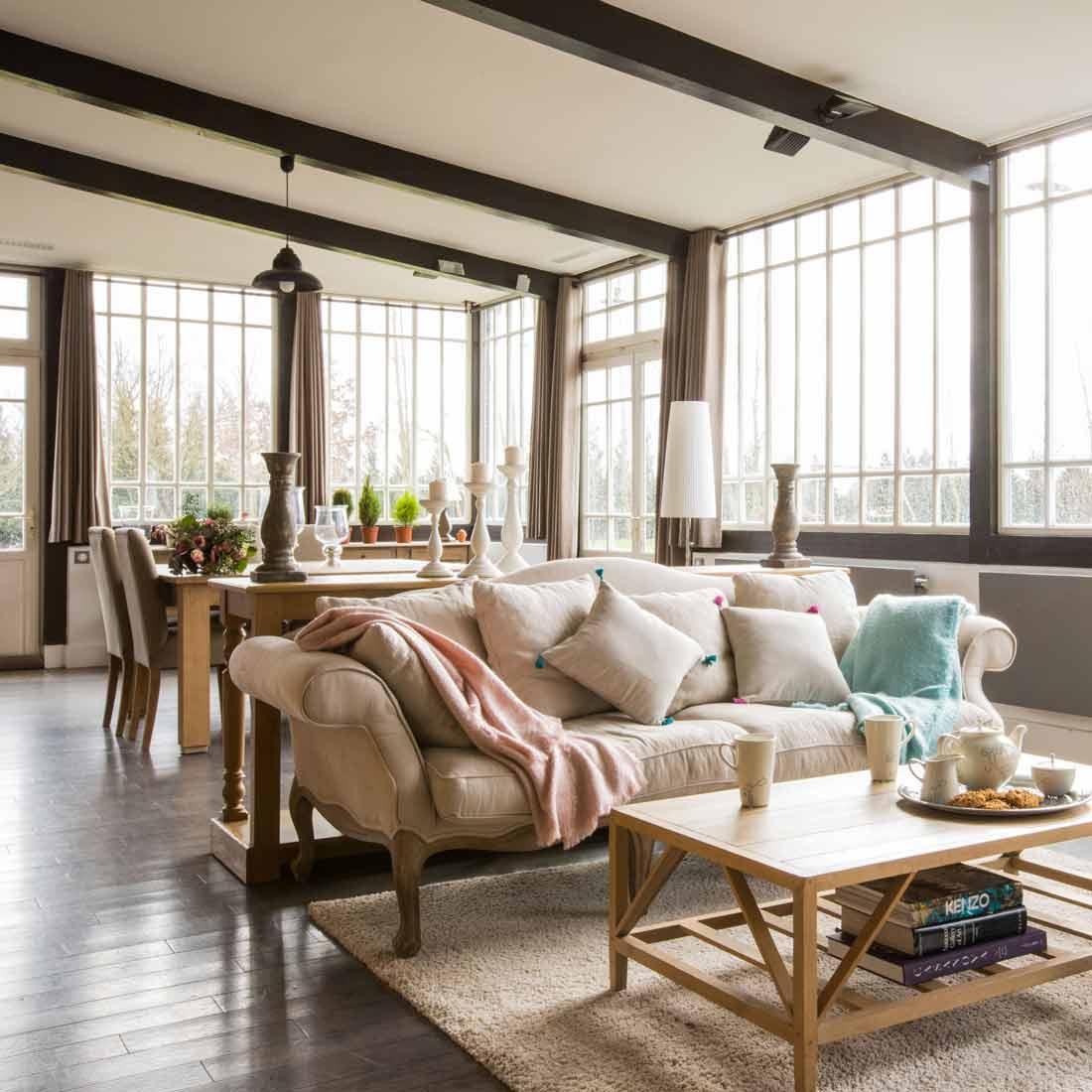 Maison De Campagne Vexin extension de maison - cosy side - design d'intérieur - vexin