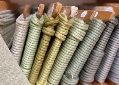 Jolies couleurs de galons pour fauteuil